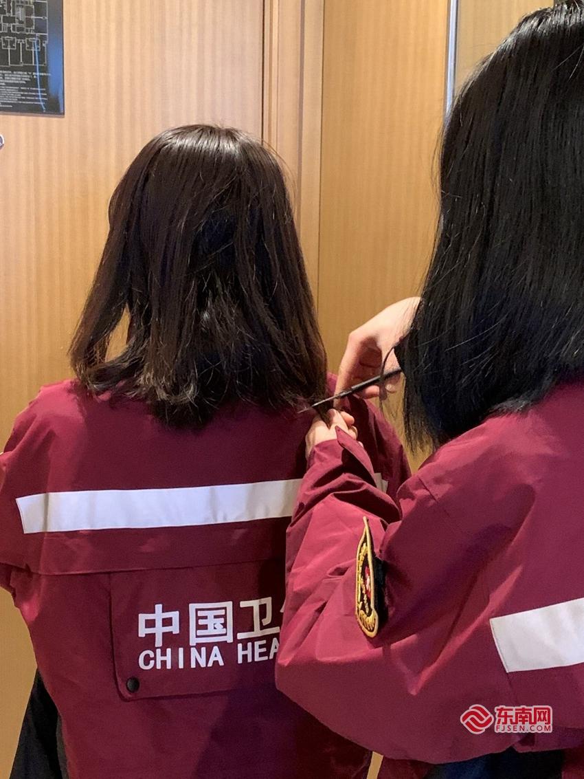 泉州援助武汉医疗队日记:把住所分区 将长发剪短