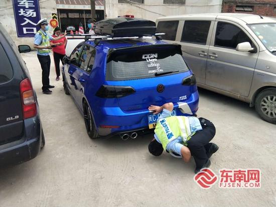 丰泽:改装车车主发抖音炫耀 交警很快就找上门