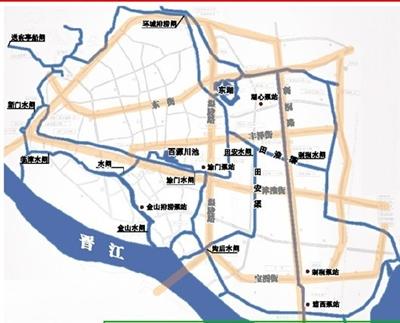 泉州文庙手绘地图