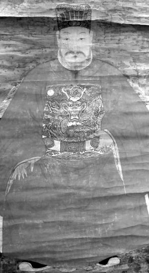 �RߞR|_明代王审邽画像