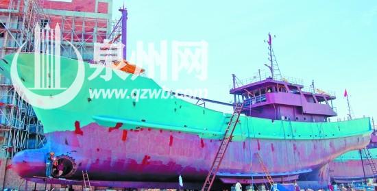 渔船龙骨结构图片