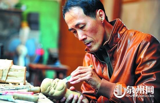 开始学习木偶头雕刻