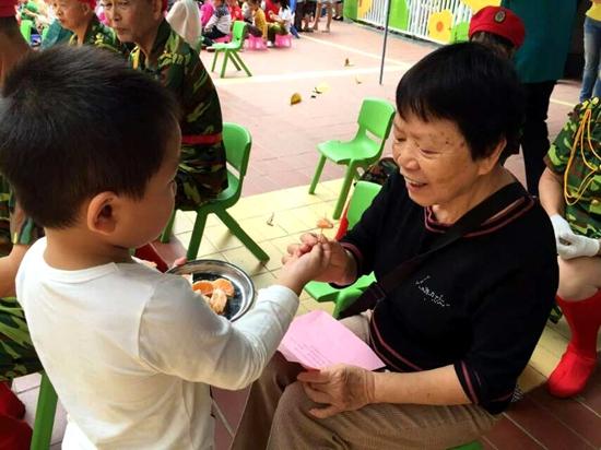 """...爱幼的优良传统以及中国人\""""敬吾老以及人之老爱吾幼以及人..."""