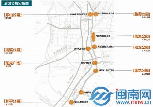晋江将沿机场连接线