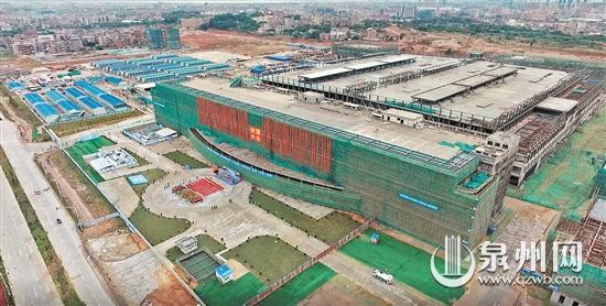晋华集成电路项目主厂房封顶 14个相关产业链项目签约
