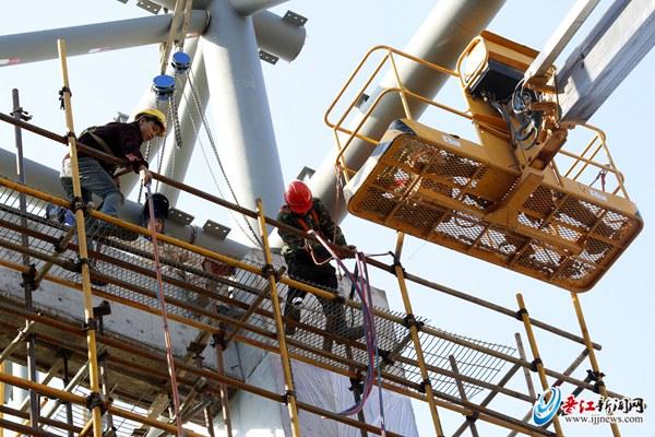 晋江市少体校项目建设加快 多个场馆建设同步推