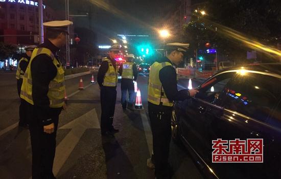 春节期间泉州开发区交警已查处涉酒交通违法5起