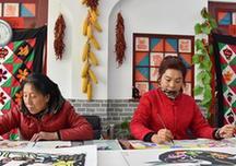 """(图文互动)(2)""""画出心,画出情,画出美好新生活""""——西安农民画绘出40年喜乐盼"""